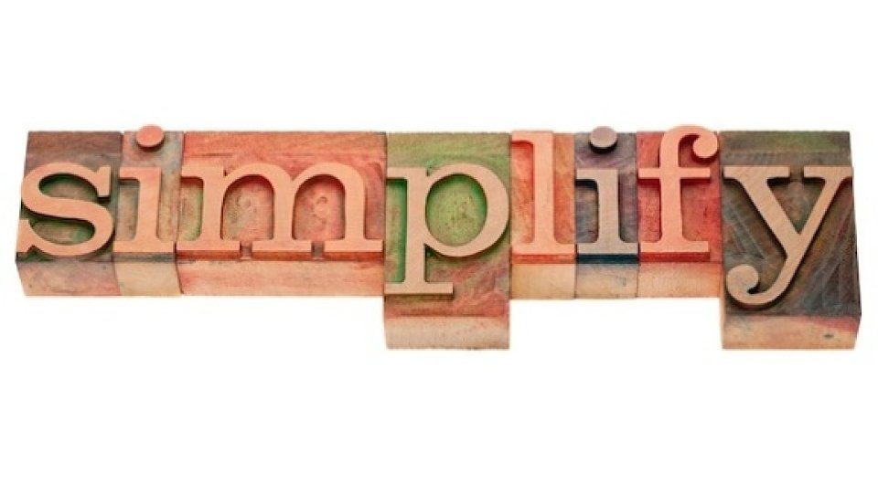 blog five steps for simplifying your life
